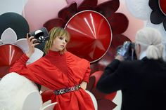 Fendi SS16 campaign: behind the scenes