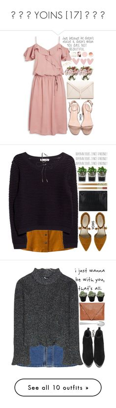 """""""♡ ♡ ♡ YOINS [17] ♡ ♡ ♡"""" by exco ❤ liked on Polyvore featuring yoins, Korres, clean, organized, yoinscollection, loveyoins, Threshold, MANGO, Covo and Balenciaga"""