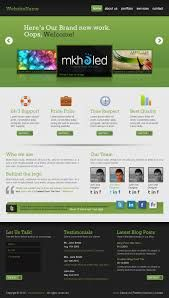 formal website layouts - Google Search