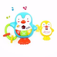 Baby & Toddler Toys Toys & Hobbies Cute Baby Rattles Chick Tumbler Doll Baby Toys Sweet Bell Music Light Poly Learning Education Toys Gifts Baby Bell Baby Toys Lustrous