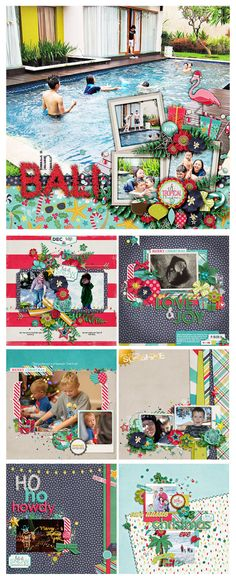 Warm Wishes – a Christmas Kit with a Twist! NEW from Zoe, Flergs and Digilicious Design!