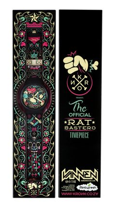 Rat Basterd Watch on Behance