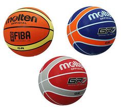 dfaece17cfe New Molten GR7 Basketball Official Fiba Approved 12 Panel Ball Indoor  Outdoor