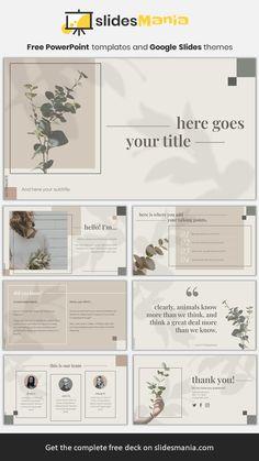Agnes, elegant botanical theme.