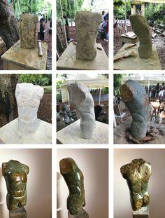 Adonis, Skulptur aus Serpentin-Stein
