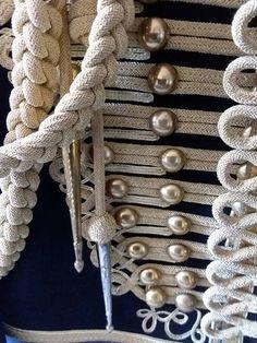 The Alba Hussars, dolman with gold braided auguliettes, #comejoinourCampaign, visit jacobitetours.co.uk