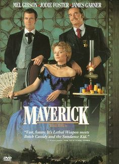 """Maverick - """"It isn't terribly deep, but it's witty and undeniably charming, and the cast is obviously having fun."""""""