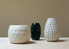 find hardening clay and texture rubs for custom flowerpots (flat flowerpots for hanging on wall.