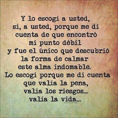 A usted.