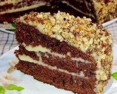 Шоколадный торт на кефире «Фантастика»   Самые вкусные кулинарные рецепты