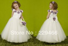 Free-shipping-High-quality-infant-toddler-Floral-CupCake-White-Puffy-girls-Cupcake-Short-Pageant-Dresses.jpg (792×540)