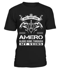 AMERO Blood Runs Through My Veins