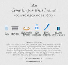 Como limpar tênis branco: aprenda 5 formas infalíveis (TESTADAS)