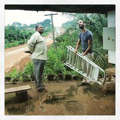 Can we build it? Yes we can! #solarpower #socialentrepreneurship #femaleempowerment #ngo #africa #ho #ghana