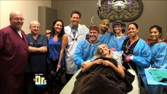 """Dr. Letelier donates implant surgery to a military wife...featured on """"The Doctors"""""""