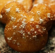 Recipes from Disney World! Beignets, as is served at Port Orleans Resort in Disney World!