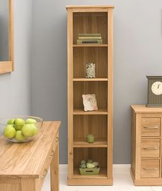 bonsoni mobel oak narrow bookcase 30 tall narrow bookcase solid oak bookcase small
