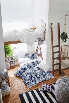 Il letto sul soppalco – Foto