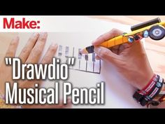 "Weekend Projects - ""Drawdio"" Musical Pencil - YouTube"