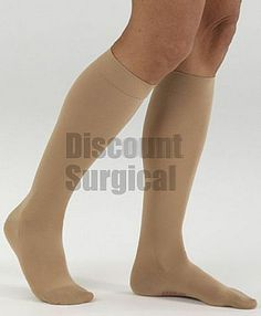 Medi Comfort Calf Knee High 15-20. Nurses rejoice! Ease of application matched with luxurious softness means all day comfort. Accurate compression socks that come in open toe or closed toe. Petite length and wide calf also available to find your perfect fit.
