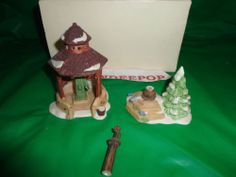 Dept. 56 Department 56 2 Pc. Well & Holy Cross Retired Accessory Heritage 6547-1 find me at www.dandeepop.com