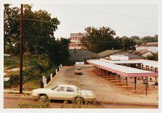 William Eggleston 'Sonic Drive-Thru, Mississippi'
