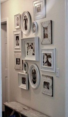 Frameset special colors farmhouse decor wall gallery old wood with… - Frames set . , Frameset special colors farmhouse decor wall gallery old wood with… - Frames set . Frameset special colors farmhouse decor wall gallery old wood wit. Rustic Wall Art, Rustic Walls, Wall Wood, Organisation Des Photos, Organization Hacks, Art Mural Rustique, Diy Home Decor, Room Decor, Picture Frame Sets