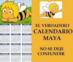 """El original calendario """"Maya"""""""