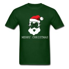 Cool Santa Clus - Men's T-Shirt Bar Outfits, Night Club Outfits, Hipster Outfits, Kids Outfits, Hipster Clothing, Vegas Outfits, Woman Outfits, 21st Birthday Outfits, Birthday Outfit For Women