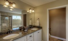A Master Bathroom fit for Royalty - Complete with walk-in closet - Snelling home in Eagan