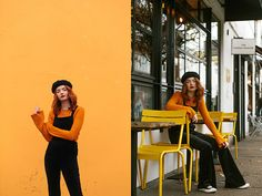 Get this look: http://lb.nu/look/8904185  More looks by Hannah Louise: http://lb.nu/hannahlouisef  Items in this look:  Black Velvet Dungarees, Nobodys Child Jumper   #casual #retro #vintage