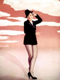 "Judy Garland singing 'Get Happy' in ""Summer Stock"", 1950"