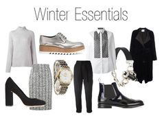 """Winter Essentials"" by farfetch ❤ liked on Polyvore featuring Forte Forte, Church's, Givenchy, Dolce&Gabbana, Ann Demeulemeester, Theory, OMEGA, Jil Sander, Alexander McQueen and Loeffler Randall"