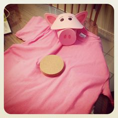 Hamm toy story costume!!
