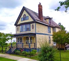 Joseph Buchanan House in Detroit's Corktown neighborhood