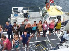 Post dive on the Atlantis Submarines deck