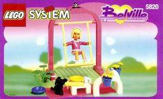 5820 {Girl on Swing} 90s Childhood, Childhood Memories, 90s Toys, Big Love, Sweet Memories, Lego Sets, Amazing Gardens, Legos, Dolls