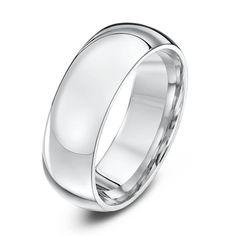 Platinum Wedding Rings, White Gold Wedding Rings, Wedding Ring Bands, Star Wedding, Wedding Men, Palladium, Cheap Silver Rings, Beautiful Wedding Rings, Elegant Wedding