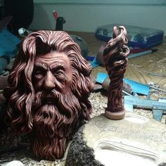 Gandalf the grey smoking pipe . Gandalf Tattoo, Smoking Images, Lion Sculpture, Smoke, Fantasy, Statue, Wallpaper, Pictures, Grey