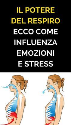 IL POTERE DEL RESPIRO: Ecco Come Influenza Emozioni e Stress At Home Workouts, The Cure, Medicine, San Giovanni, Influenza, Hobby, Running, Stretching, Memes
