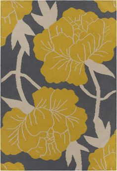 Thomaspaul Collection Flatweave Area Rug In Grey, Yellow, U0026 White Design By  Chandra Rugs
