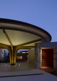 Lilypad House Roof Design by Jorge Hrdina Architects
