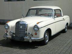 1960 Mercedes - Benz 220 SE Ponton Coupe
