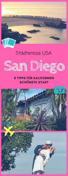 San Diego Travel Tips: You should not miss out on these attractions if you're just one day in San Diego. The post Experience San Diego in one day! appeared first on Woman Casual. Uk And Ie Destinations, Holiday Destinations, Koh Lanta Thailand, Attraction, San Diego Travel, Les Continents, Travel Tags, Destination Voyage, Park City
