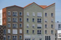 Pontoise Housing / PLAN 01