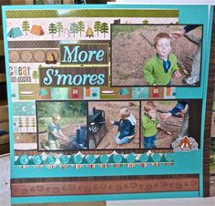 More scrapbook layout