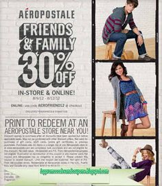 Aeropostale Coupons Ends of Coupon Promo Codes MAY 2020 ! Aéropostale is a specialized retailer of casual apparel and accessories, mai. June Calendar Printable, Free Printable Coupons, Free Printables, Godfathers Pizza, Franchise Restaurants, Ace Hardware Store, Ny Style, Bath And Beyond Coupon, Bath And Body Works