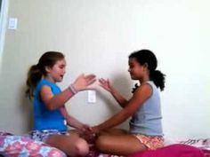 "▶ Learn FUN hand clapping game ""Down Down Baby"" - YouTube"