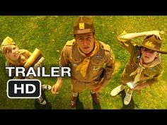 MOONRISE KINGDOM-Trailer 2012--Set on an island off the coast of New England in the summer of 1965, Moonrise Kingdom tells the story of two twelve-year-olds who fall in love, make a secret pact, and run away together into the wilderness. As various authorities try to hunt them down, a violent storm is brewing off-shore -- and the peaceful island community is turned upside down in more ways than anyone can handle. Bruce Willis plays the local sheriff. Edward Norton is a Khaki Scout troop…