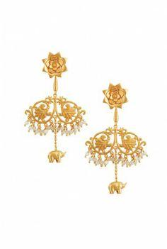earrings by Amrapali